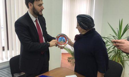 Встреча с коллегами из Чеченской Республики