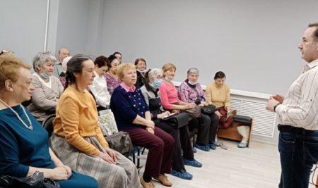 Мы вместе ! Психологическая поддержка пожилых людей 70+  в период  пандемии Covid-19
